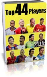 معرفی 44 بازیکن برتر تاریخ اروپا