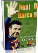 سی دی کل بازی رئال مادرید 0 - 5 بارسلونا