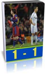 بارسلونا 1 - 1 رئال مادرید