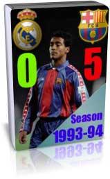 الکلاسیکو سال 1994 بارسلونا 5 - 0 رئال مادرید