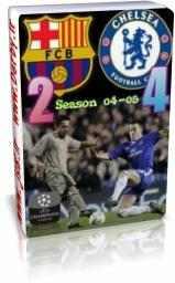 فروش سی دی بازی چلسی بارسلونا در جام باشگاههای اروپا لیگ قهرمانان سال 2005