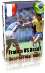 برزیل-فرانسه(یک چهارم نهایی 1986)