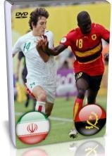 سی دی و دی وی دی بازی ایران آنگولا جام جهانی 2006