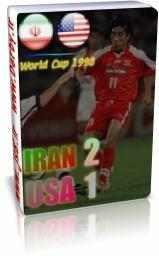 فروش سی دی بازی ایران آمریکا در جام جهانی 1998 فرانسه
