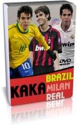 گلها و بازیهای کاکا در میلان و رئال مادرید