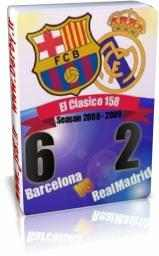 الکلاسیکو رئال مادرید 2 - 6 بارسلونا