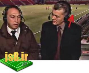صحنه های جالب و خنده دار فوتبال  www.js8.ir